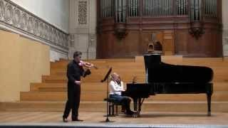 Karol Szymanowski, Sonata for piano and violin op.9, 3rd movement