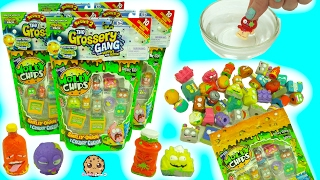 Surprise Blind Bag Grossery Gang Color Change + Glow In The Dark Series 2 Moldy Chips Packs