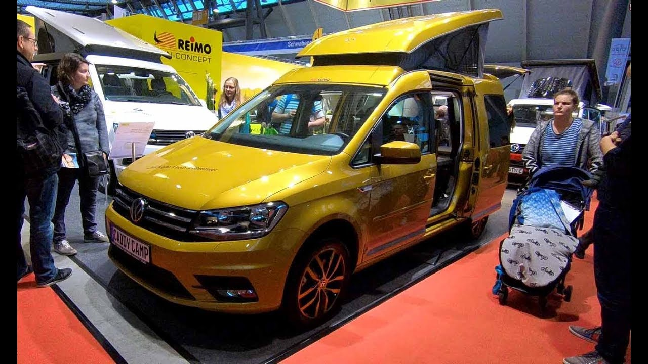 volkswagen vw caddy maxi camp by reimo camper walkaround. Black Bedroom Furniture Sets. Home Design Ideas