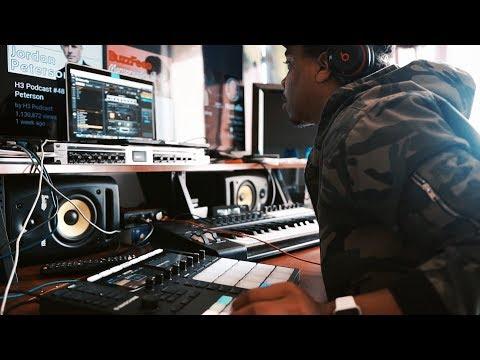"""Indian Idea"" | Making A Beat In Studio Session (Original Music / Studio Vlog)"