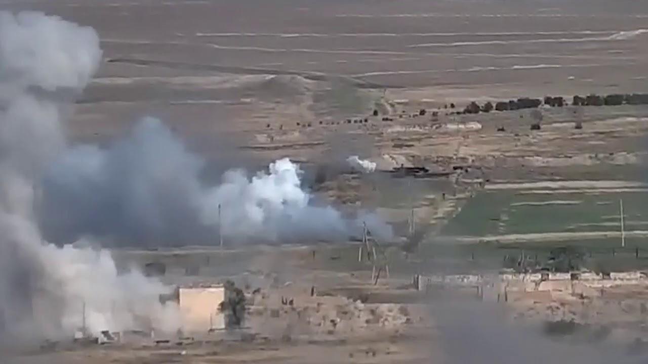 Очередной ущерб живой силе и технике азербайджанской армии