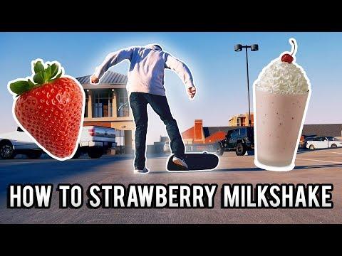 Easy Beginner Skateboard Trick! | How to Strawberry Milkshake