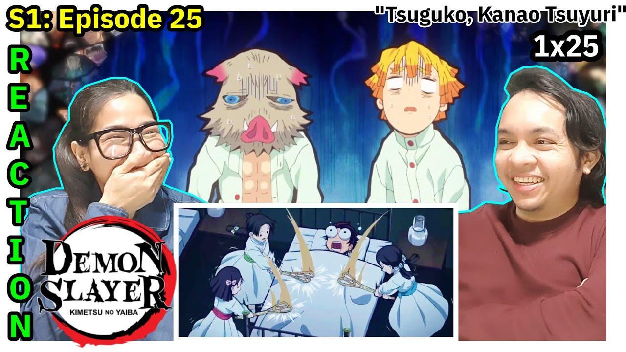Download Demon Slayer Episode 25 Reaction    Kimetsu no Yaiba Episode 25 Reaction