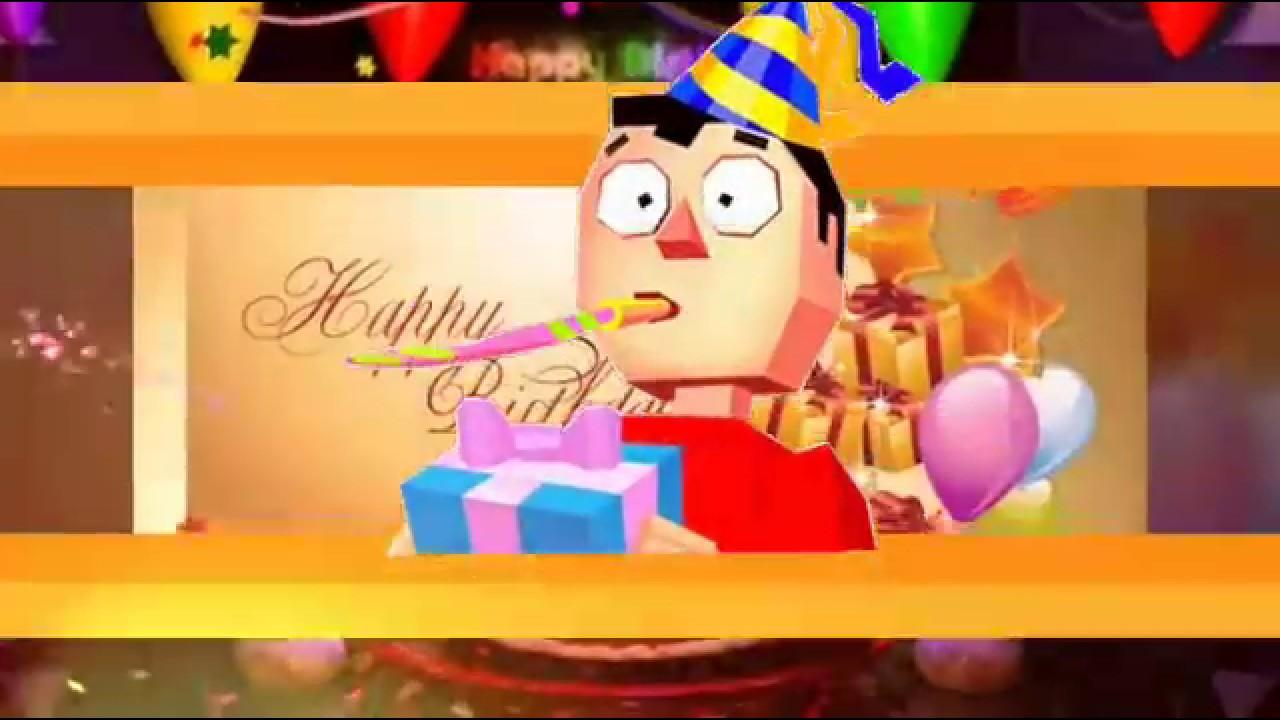 Happy Birthday Song Whatsapp Status Youtube