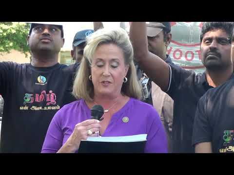 US Congresswoman Mrs Ann Wagner speaks for BanSterlite, Human rights violations