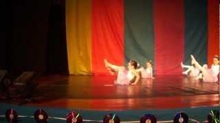 Bruna na Mostra de Dança Black Music - Ballet - Studio Carolina Furtado, professora Evelyn Lima