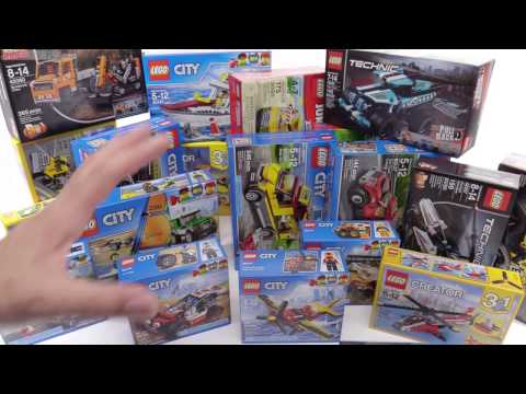 LEGO set haul! 2017 City, Creator, Technic in-hand! 📦 #17