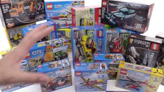 LEGO set haul! 2017 City, Creator, Technic in-hand! 📦 #171