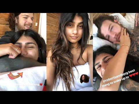 Mia Khalifa With Boyfriend Robert Sandberg | Instagram Story | September 30 2018 #MiaKhalifa