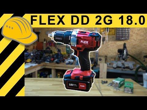 18V Akkuschrauber Alternative? Flex DD 2G 18.0 Akkuschrauber TEST