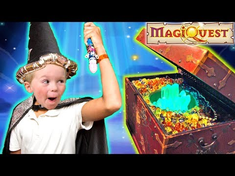Great Wolf Lodge Indoor MagiQuest Family Fun Kid Activities for Children Wizarding | DavidsTV