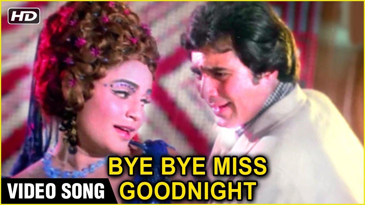 Bye Bye Miss Goodnight   Video Song   Prem Nagar   Rajesh Khanna, Hema Malini   Kishore Kumar