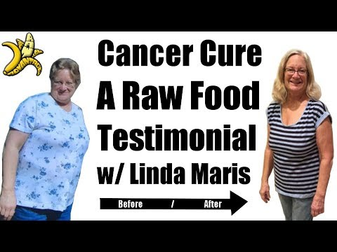 Cancer Cure | A Raw Food Testimonial with Linda Maris