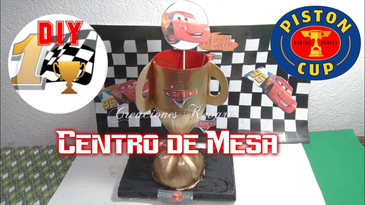 Dulcero O Centro De Mesa De Cars Trofeo D A Del Padre
