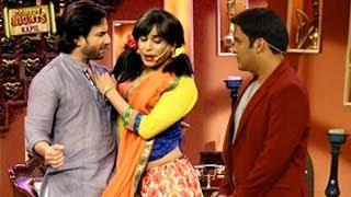 Gaurav Gera as GUTTHI in Comedy Nights With Kapil 1st December 2013 Episode