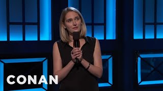 Jena Friedman: Treat Nazis Like You Treat Women  - CONAN on TBS
