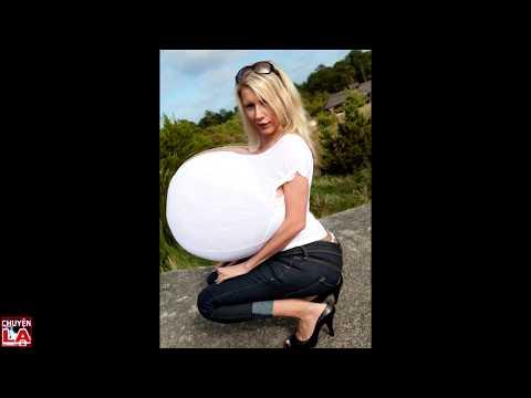 Thế giới chuyện lạ ♥ Những phụ nữ có bộ ngực khủng nhất thế giới