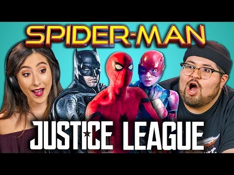Thumbnail: COLLEGE KIDS REACT TO SPIDER-MAN: HOMECOMING + JUSTICE LEAGUE TRAILERS
