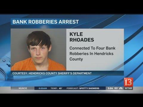Three teens arrested in Hendricks County bank robberies