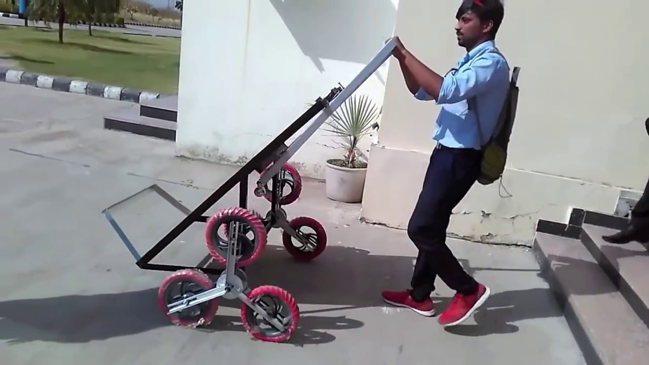 Final year project  Mechanical engineering, good project, stair climbing  trolley