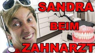 Sandra beim Zahnarzt - Die Untersuchung!