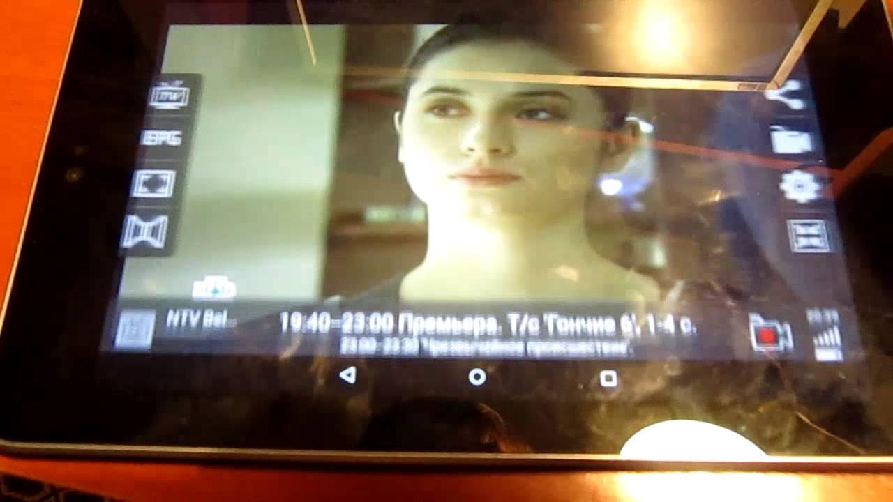 Testing of Android micro USB DVB T2 TV Tuner TV Tuner Geniatech (MyGica)  PT360 in Belarus, Minsk