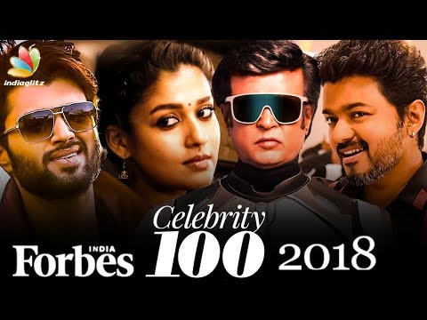 Highest Earning Kollywood Celebrities of 2018   Forbes 100