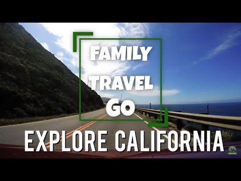 4K - Explore California - Highlights Reel the Best Places to See in California