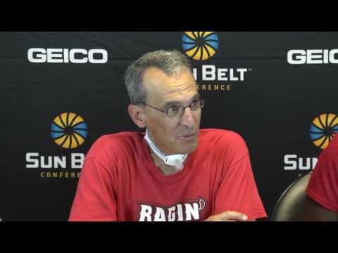 2016 Sun Belt Softball Championship: Game 5 UL Lafayette Press Conference