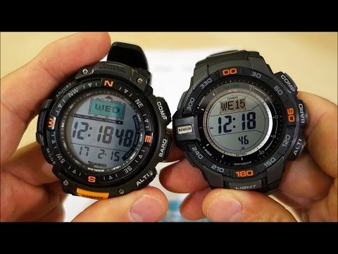 FACE-OFF! Casio ABC Tough Watch Duel: Pathfinder PAG40-3V vs. Pro Trek PRG-270-1 - Perth WAtch #36