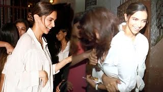 Deepika Padukone Snapped Chilling Out With Friends