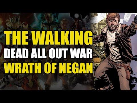 Rick vs Negan (The Walking Dead Vol 20: All Out War Part 1)