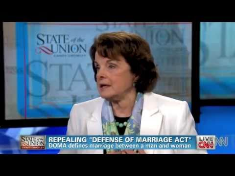 Sen. Dianne Feinstein On Respect For Marriage Act