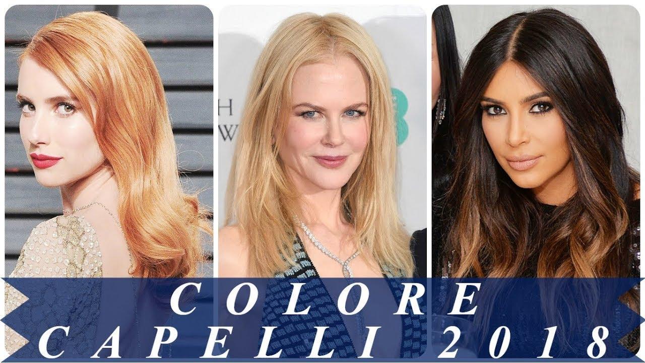 Colore capelli 2018 immagini