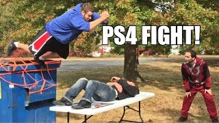 PS4 THIEF PUT THROUGH A TABLE by FALLING FAT MAN