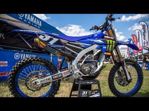 Inside Colt Nichol's Factory Star Racing Yamaha YZ250F - Motocross Action Magazine