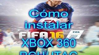 Cómo Instalar FIFA 16 en Xbox 360 RGH/JTAG