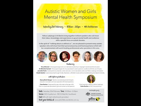 Part 1 - Symposium on Good Mental Health - Autistic Girls and Women