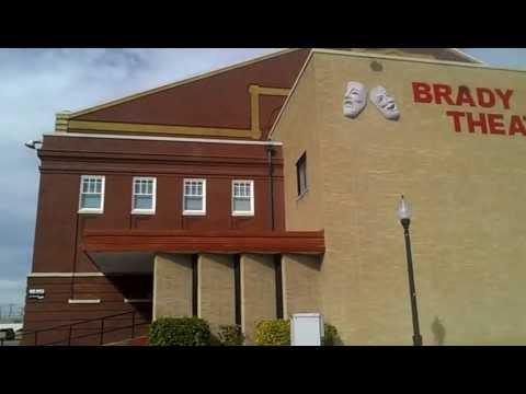 Haunted Brady Theatre. Mysterious Oklahoma