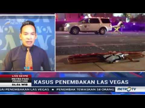 Laporan Langsung VOA untuk Metro TV: Penembakan di Las Vegas