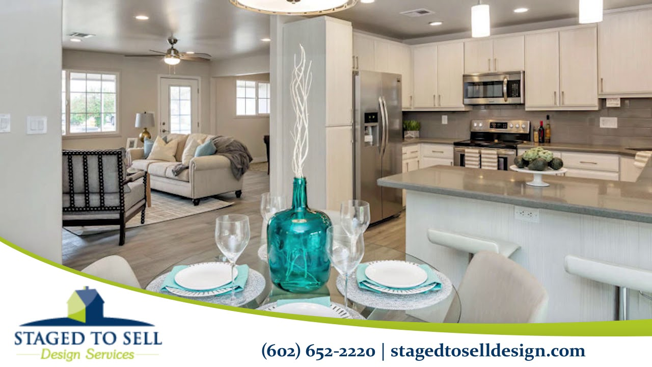 Staged To Sell Design Services Home Decor In Scottsdale Youtube