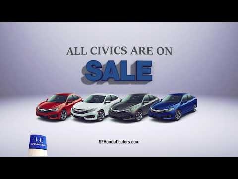 This Month - All Honda Civics On Sale