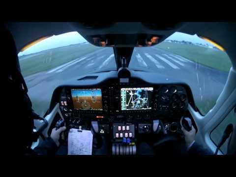 Tecnam P2006T landing at EYKS RWY 09