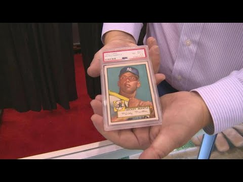 New Jersey Brothers Find 5 Holy Grail Mickey Mantle Baseball Cards