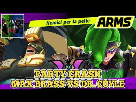 MAX BRASS VS DR. COYLE! - ARMS CON I FAN #28 ►NINTENDO SWITCH◄