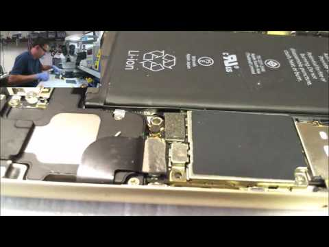 Troubleshooting an iPhone 6 that will not charge the battery