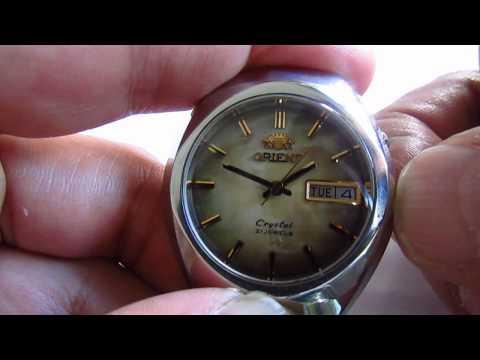 Orient Vintage Wristwatch Automatic 21 Jewels