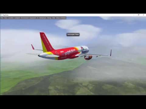 [FlightGear] A320neo Full Flight VVCR-VVTS. Bay từ Cam Ranh đến Sài Gòn