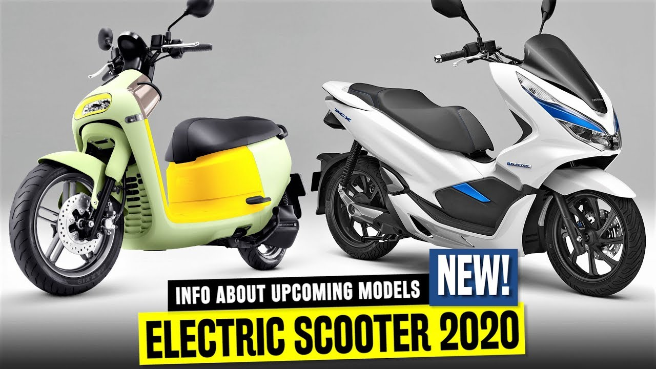 Best Motor Scooters 2020 10 Newest Electric Scooters to Bring More Power and Commuting