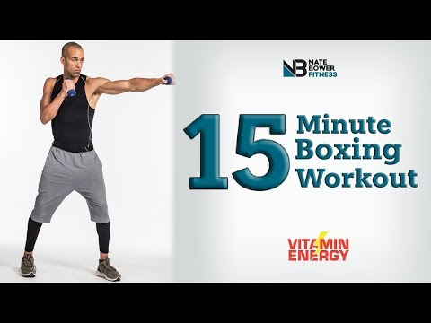 15 Minute Boxing Workout Round 1